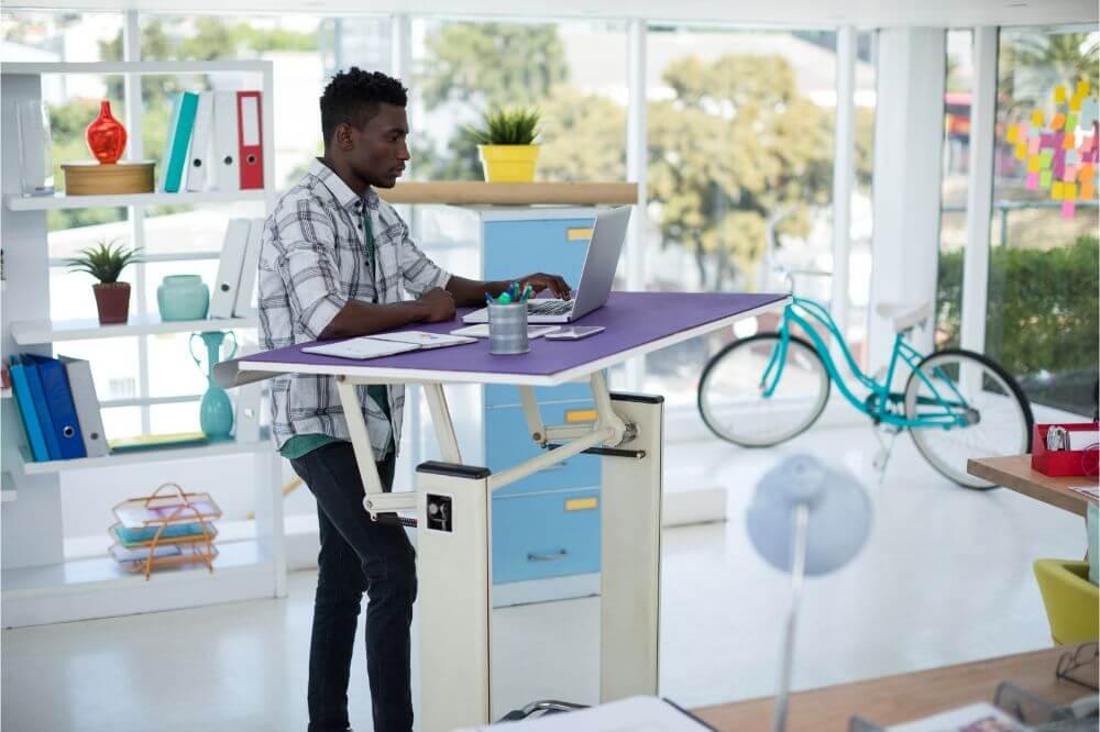 Uppel Portable Standing Laptop Desk