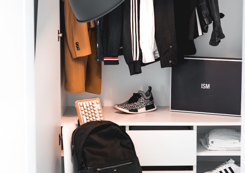 Use the Closets As Home Office