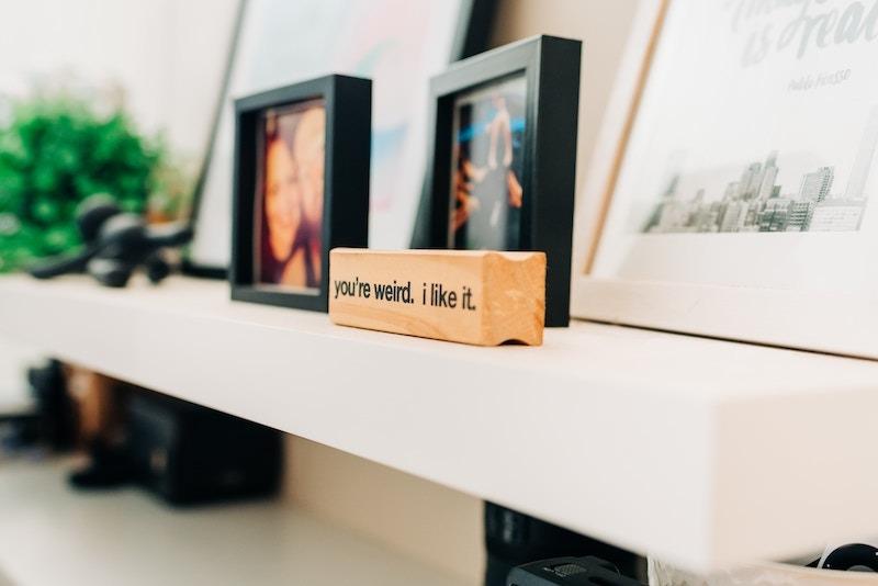 Extra Shelves Near Home Office Desk