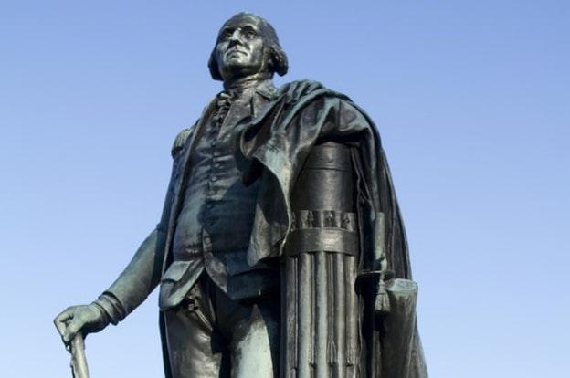 George Washington Statue Right Posture