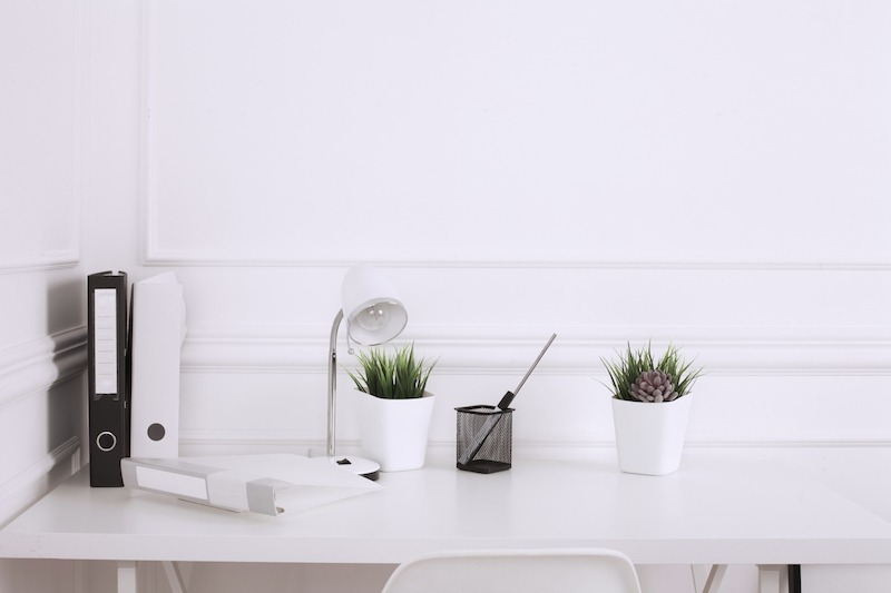 benefits for adding plants to the office space