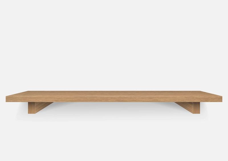 TANGKULA Wall Mounted Table