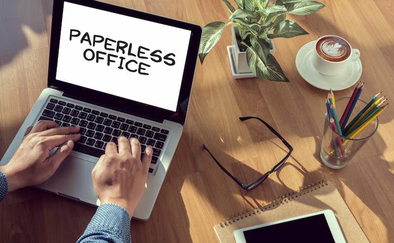 7 Benefits of a Paperless Office Strategy