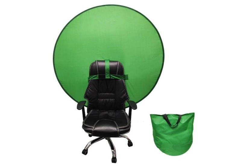 Green Background Screen For Office Chair
